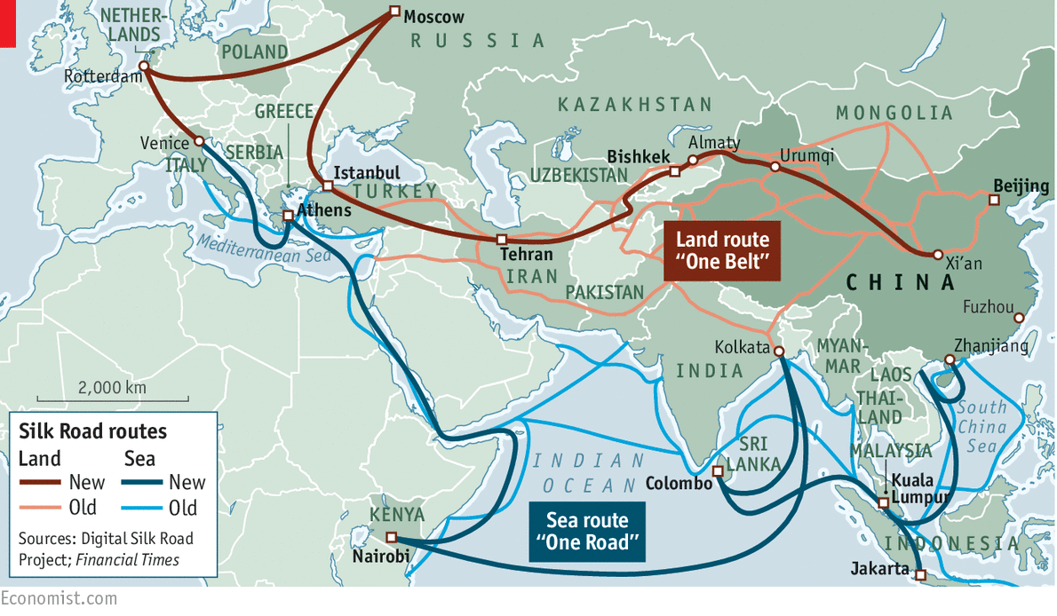 how china s one belt one road will open trade routes and raise barriers to u s law