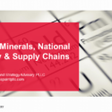 Register: Critical Minerals, National Security & Supply Chains
